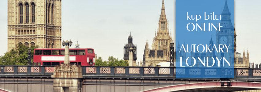 Autokary do Londyn