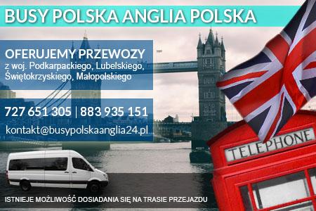 busy do londynu